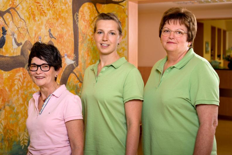 Team der Kinderarztpraxis  Schannwell